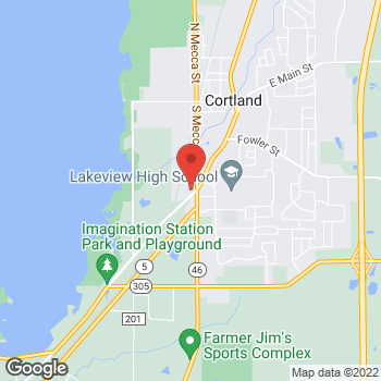 Map of Audrey Swank, PA at 550 Trumbull Avenue, Cortland, OH 44410
