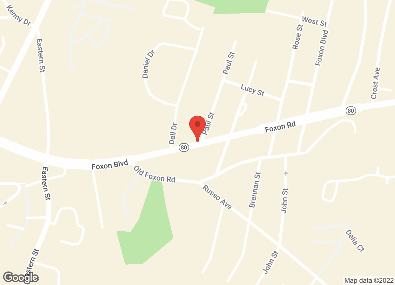 Google Map of VCA Foxon Animal Hospital