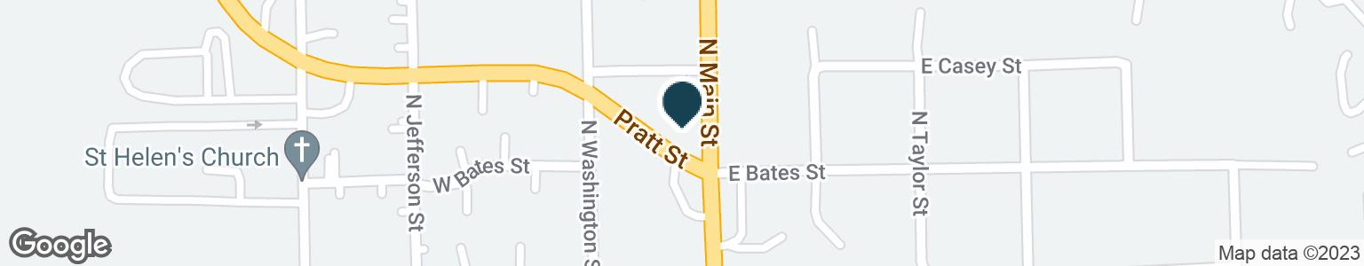 Google Map of308 N MAIN ST