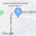 map for Master-Apprentice Pottery School of Akbar and Alisher Rakhimov, Tashkent, Uzbekistan