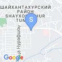 map for Гончарная школа Акбара и Алишера Рахимовых, Ташкент, Узбекистан