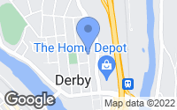 Map of Derby, CT