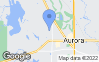 Map of Aurora, OH