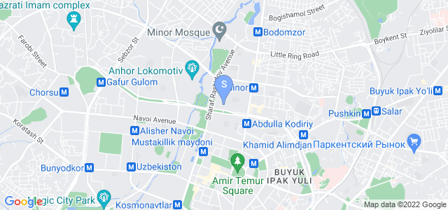 Location of Royal Residence on map
