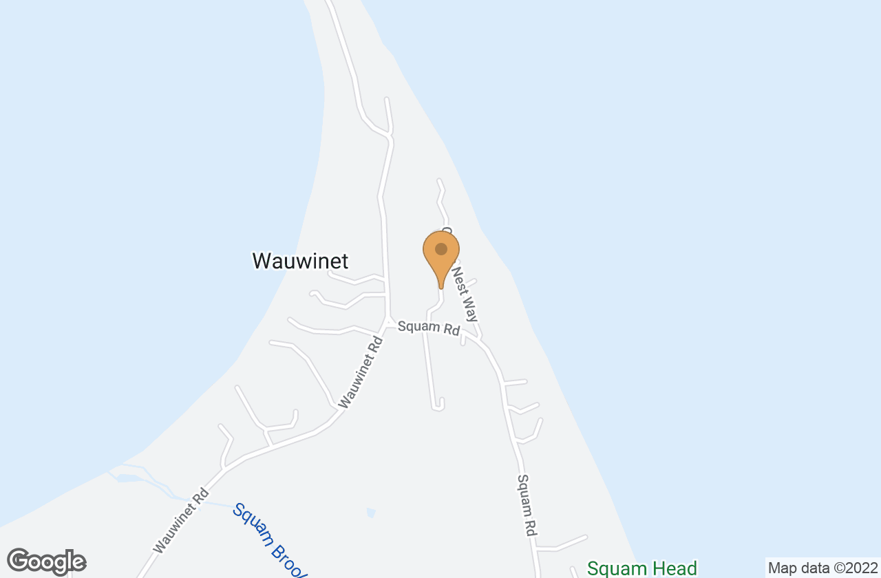 Google Map of 4 Plover Lane, Nantucket, MA, USA