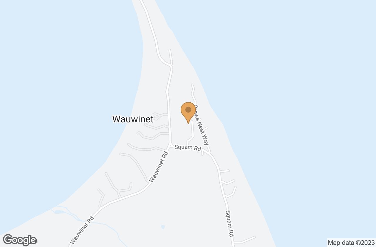 Google Map of 12 Plover Lane, Nantucket, MA, USA