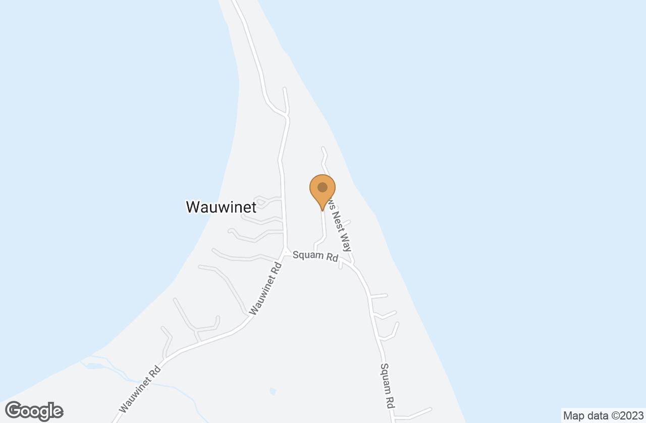Google Map of 14 Plover Lane, Nantucket, MA, USA