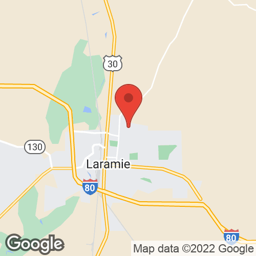 Laramie Valley Roofing on the map