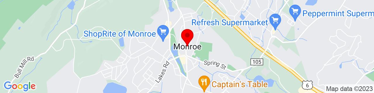 Google Map of 41.3306493, -74.1868135