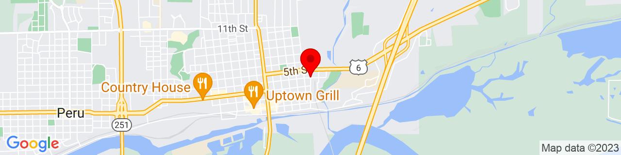 Google Map of 41.3322244, -89.0865737