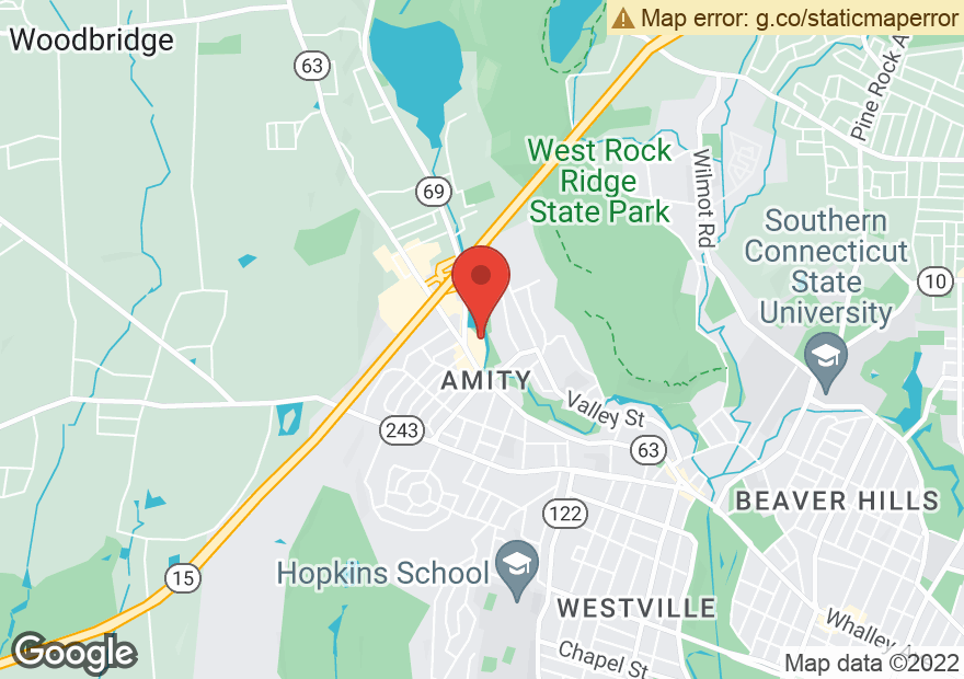 Google Map of 1471 WHALLEY AVE
