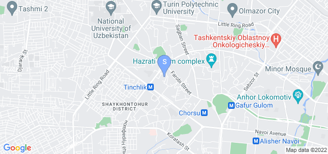 Location of Jahongir B&B on map