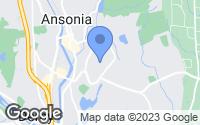 Map of Ansonia, CT