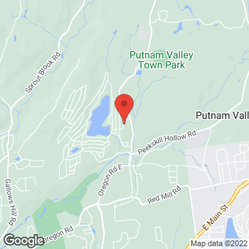 Map of Optimum WiFi Hotspot at 27 Morrissey Dr, Lake Peekskill, NY 10537