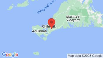 Map of Chilmark