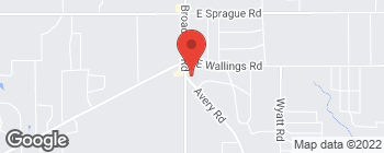 Mapa de 8181 Avery Rd en Broadview Heights
