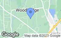Map of Woodbridge, CT