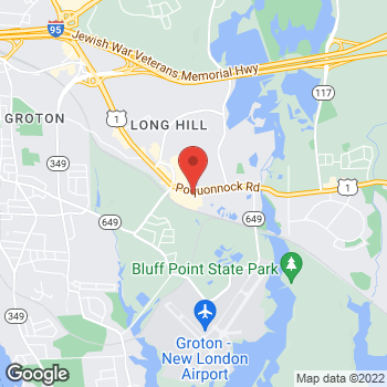 Map of Hair Cuttery - Closed at 985 Poquonnock Road Suite C, Groton, CT 06340