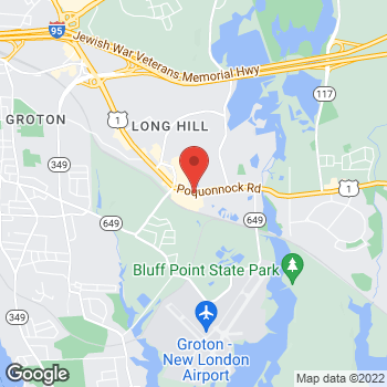 Map of Hair Cuttery at 985 Poquonnock Road, Groton, CT 06340