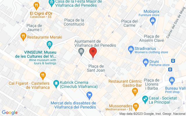 Administración nº3 de Vilafranca del Penedès