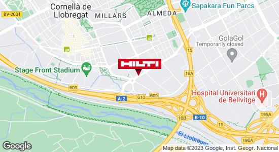 Obtener indicaciones para Tienda Hilti-Barcelona (Cornellá de Llobregat)