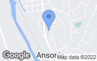 Map of Ansonia, CT
