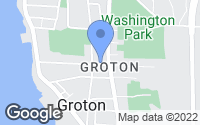 Map of Groton, CT
