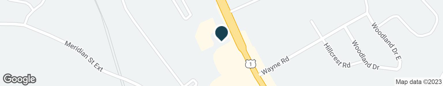 Google Map of441 LONG HILL RD