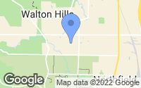 Map of Walton Hills, OH