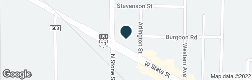 Google Map of1900 W STATE ST