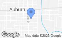 Map of Auburn, IN