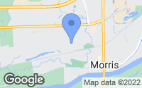 Map of Morris, IL