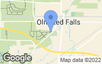 Map of Olmsted Falls, OH