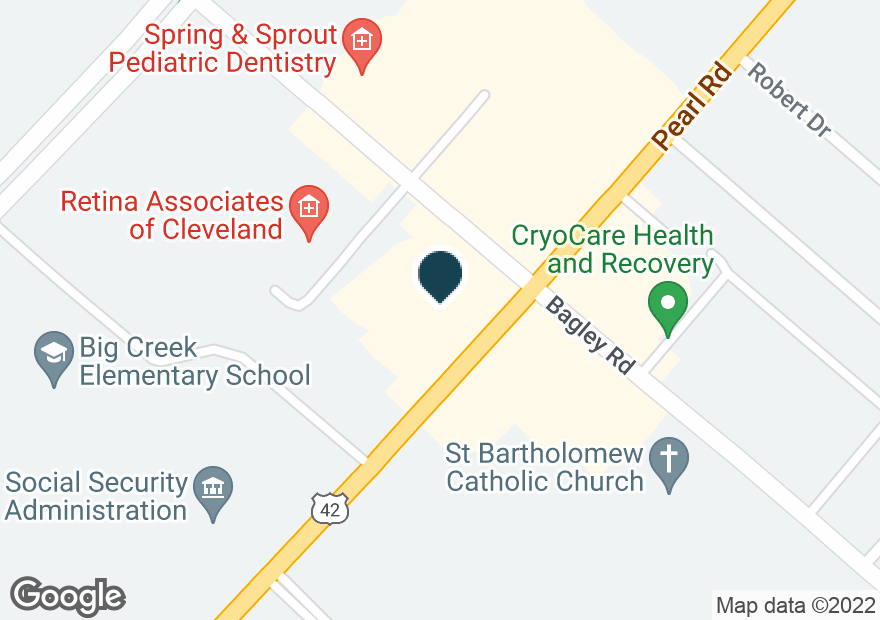 Google Map of7260 PEARL RD
