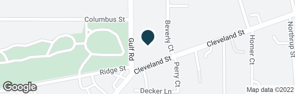 Google Map of100 CLEVELAND ST