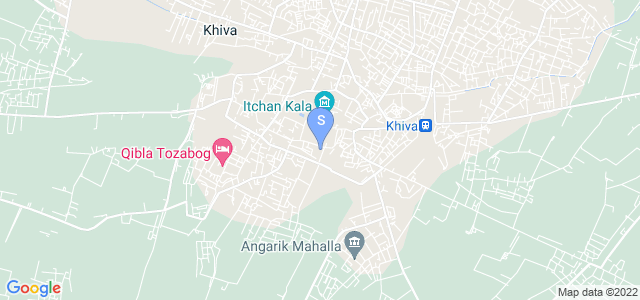 Location of Asia Khiva on map