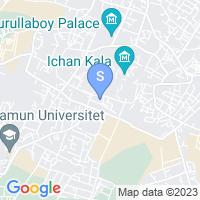 Location of Hayat Inn on map