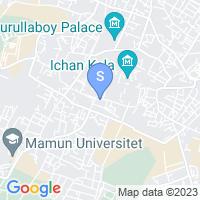 Location of Madrasa Aminxon on map