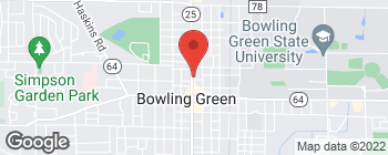 Map of 312 N Main St in Bowling Green