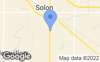 Map of Solon, OH