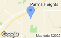 Map of Parma Heights, OH