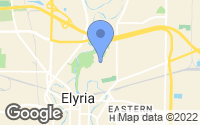 Map of Elyria, OH