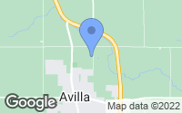 Map of Avilla, IN