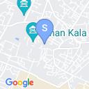 map for Tash Hauli Palace, Khiva, Uzbekistan