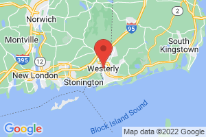 Map of Westerly