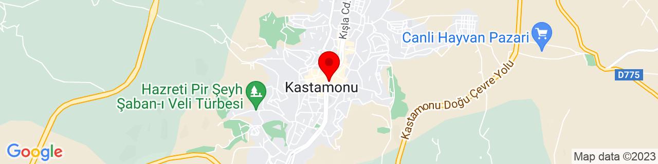 Google Map of 41.377974, 33.776791