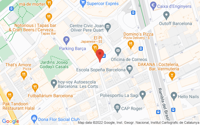 Administración nº168 de Barcelona