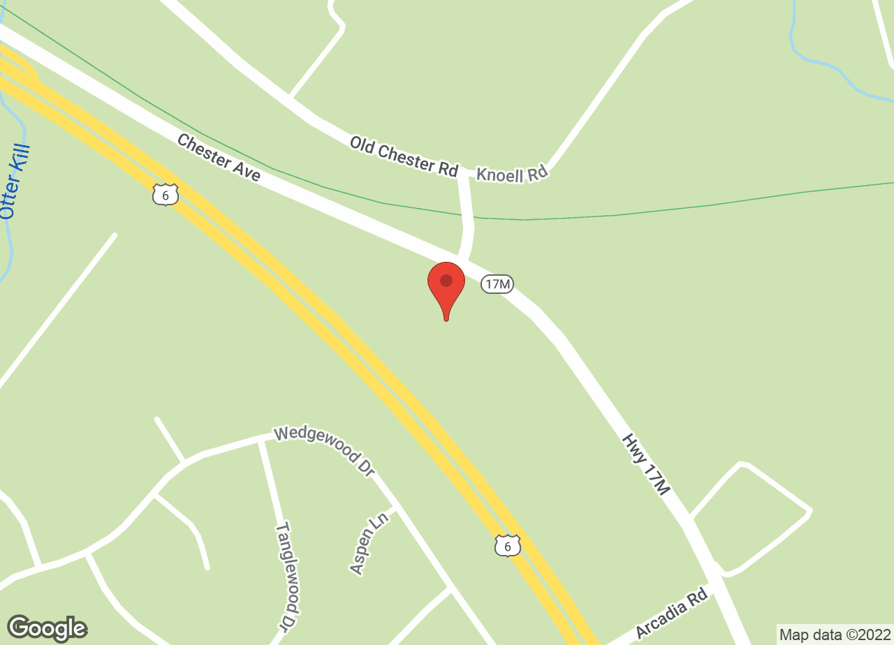 Google Map of VCA Orange County Veterinary Hospital