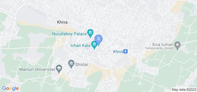 Location of Mirzo Boshi on map