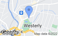 Map of Westerly, RI